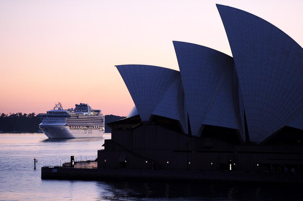 Sapphire Princess in Sydney