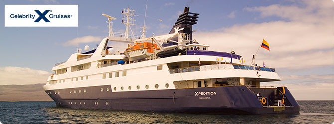 Celebrity Cruises with the Celebrity Xpedition