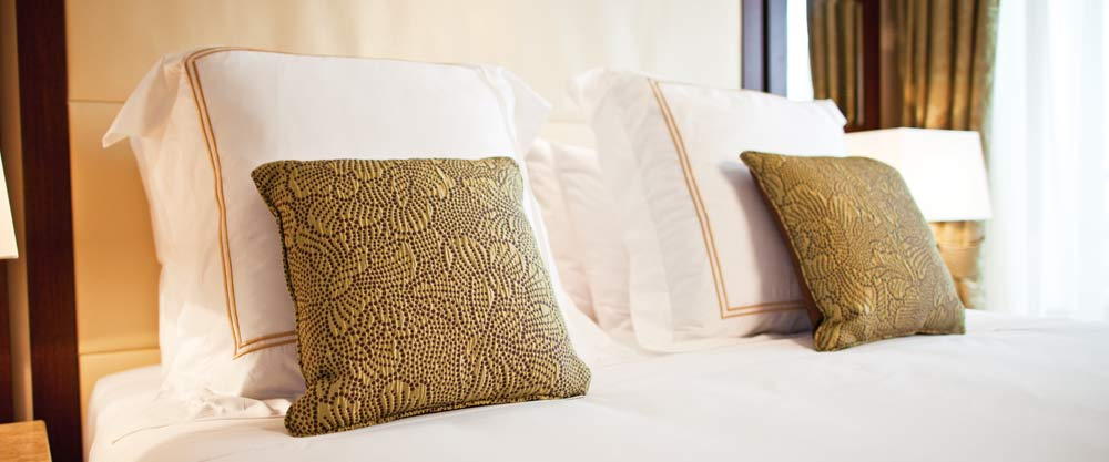 Luxury cruise lines now offer pillow menus as standard