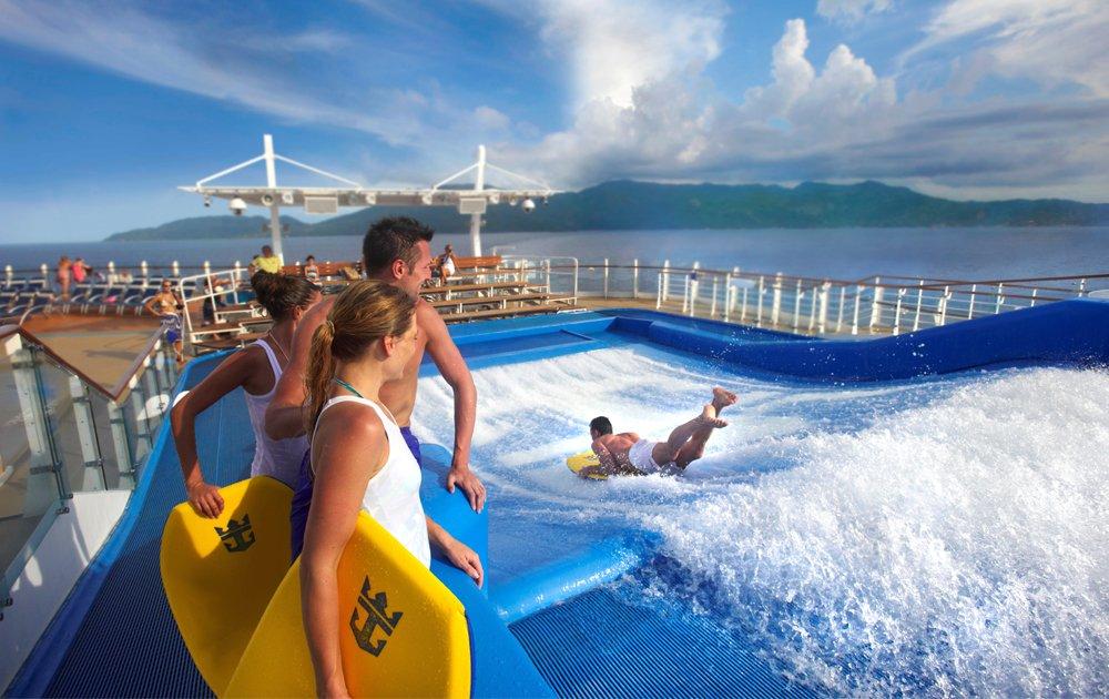 FlowRider Royal Caribbean