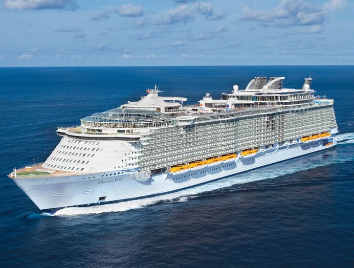 Royal Caribbean: Clase Oasis