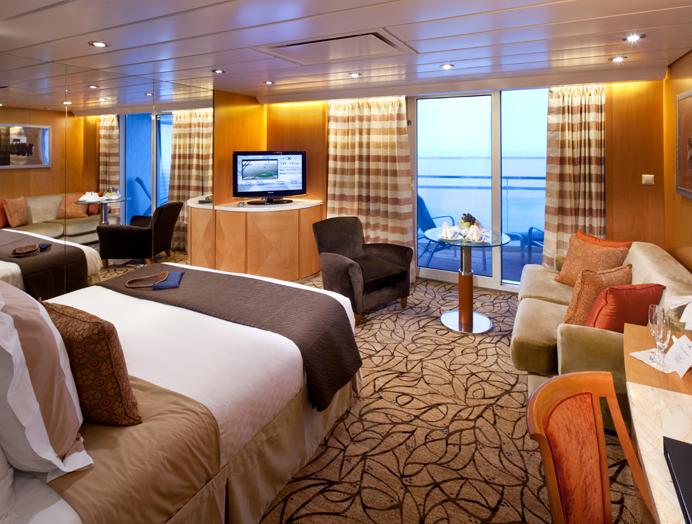 Celebrity Cruises Suite