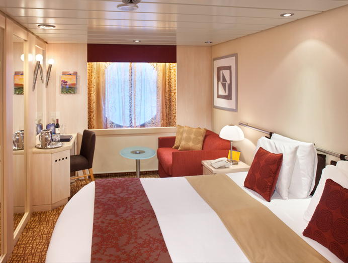 Celebrity Cruises Cabina Externa
