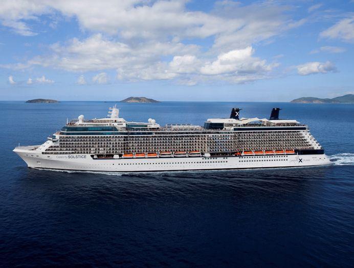 Celebrity Cruises: Clase Solstice
