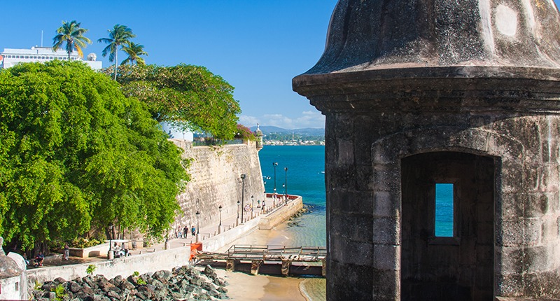 Cruceros desde San Juan, Puerto Rico