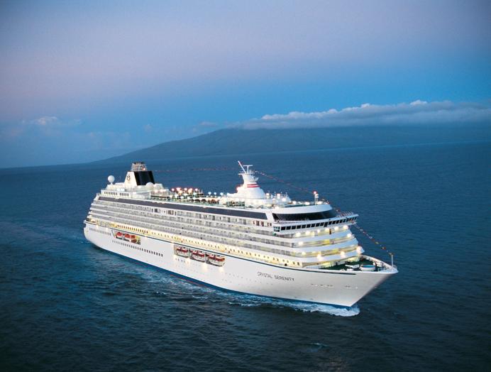 Barco Crystal Serenity de Crystal Cruises