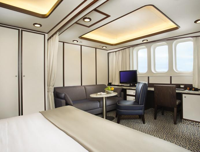 Cabina Externa en Silversea Expedition