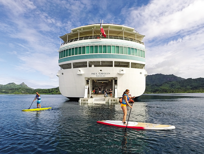 Marina de Deportes en Paul Gauguin