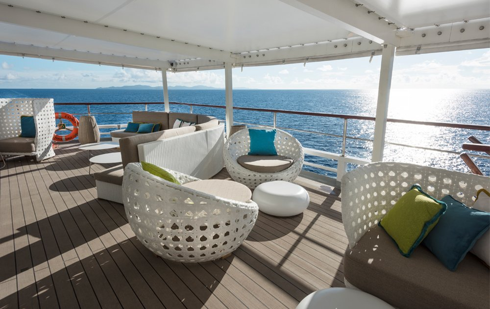 Sunset Bar de Crystal Yacht Cruises