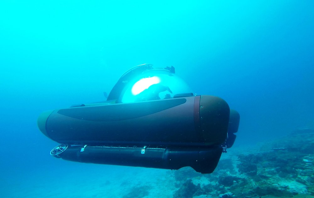 Submarino de Crystal Yacht Cruises
