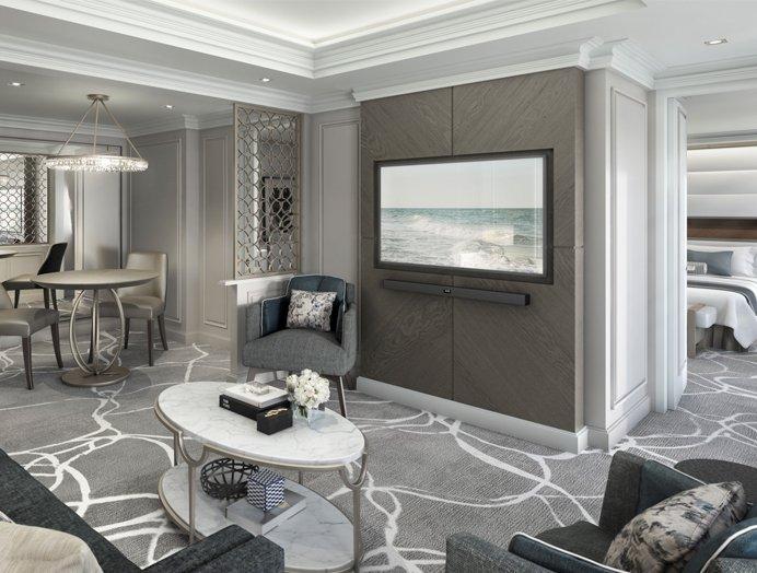 Owner's Suite de Crystal Yacht Cruises