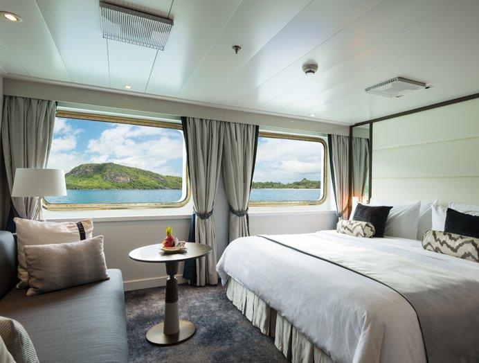 Yacht Suite de Crystal Yacht Cruises