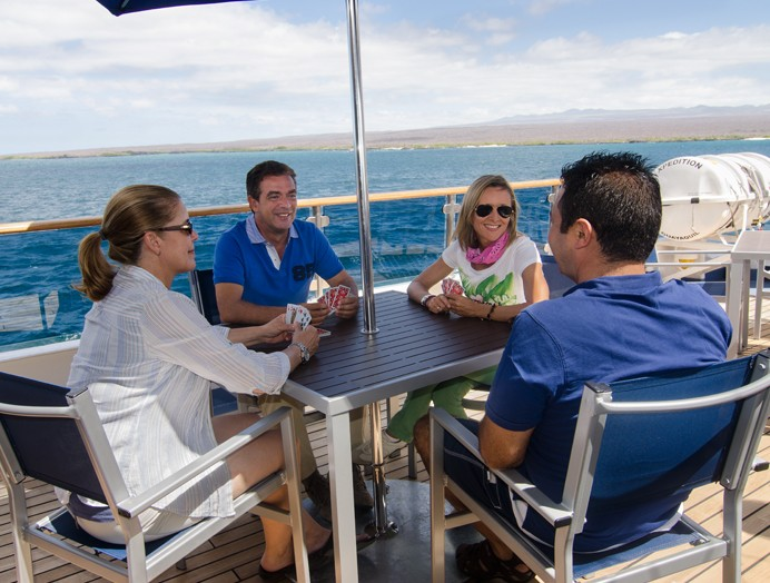 Entretenimiento a bordo de Celebrity Expedition