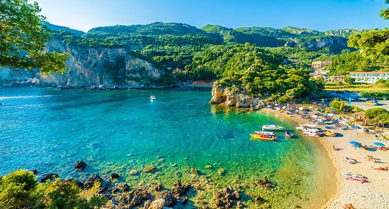 Cruceros por Corfú, Grecia