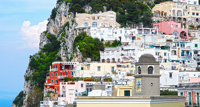 Cruceros por Capri, Italia