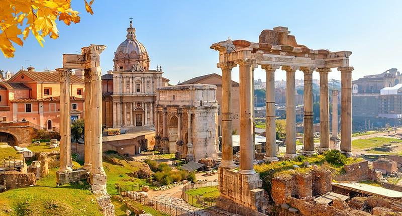Cruceros desde Roma, Italia