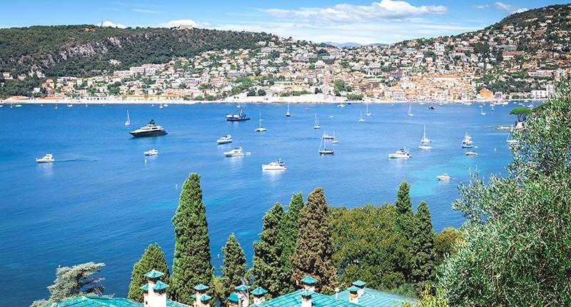 Cruceros por Villefranche (Niza), Francia