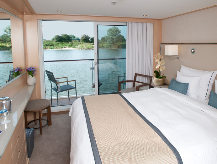 Veranda Suite en Viking River Cruises