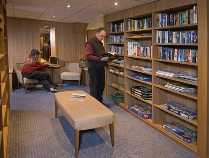 Biblioteca en Viking River Cruises