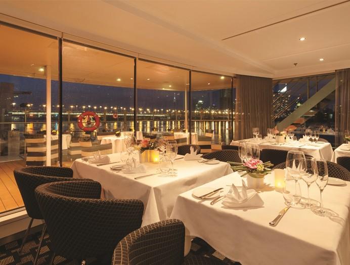 Restaurante Portobellos de Scenic River Cruises