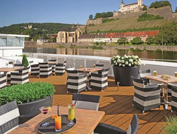 Panorama Deck en Scenic River Cruises