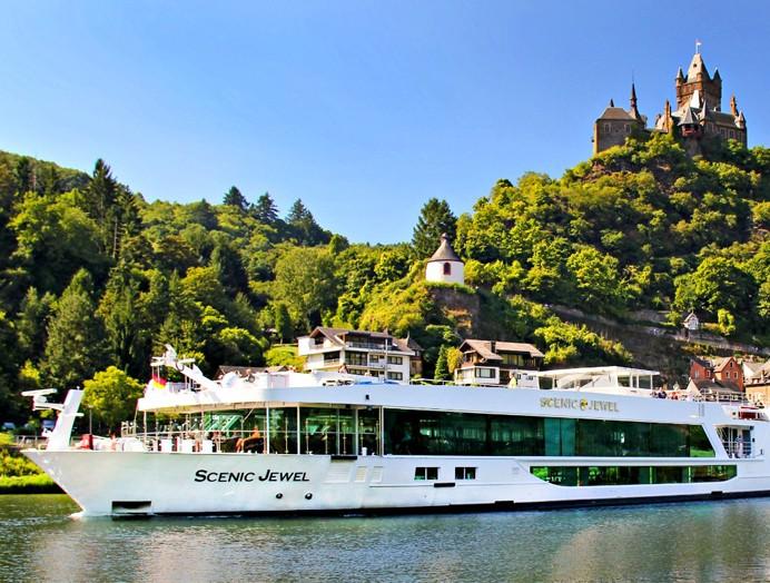 Barco Scenic Jewel de Scenic River Cruises