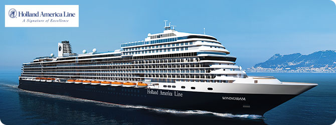 Holland America Cruise Line MS Koningsdam