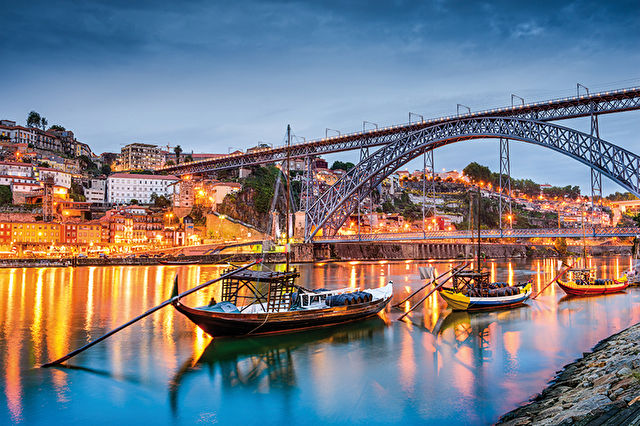 The Douro, Porto and Salamanca