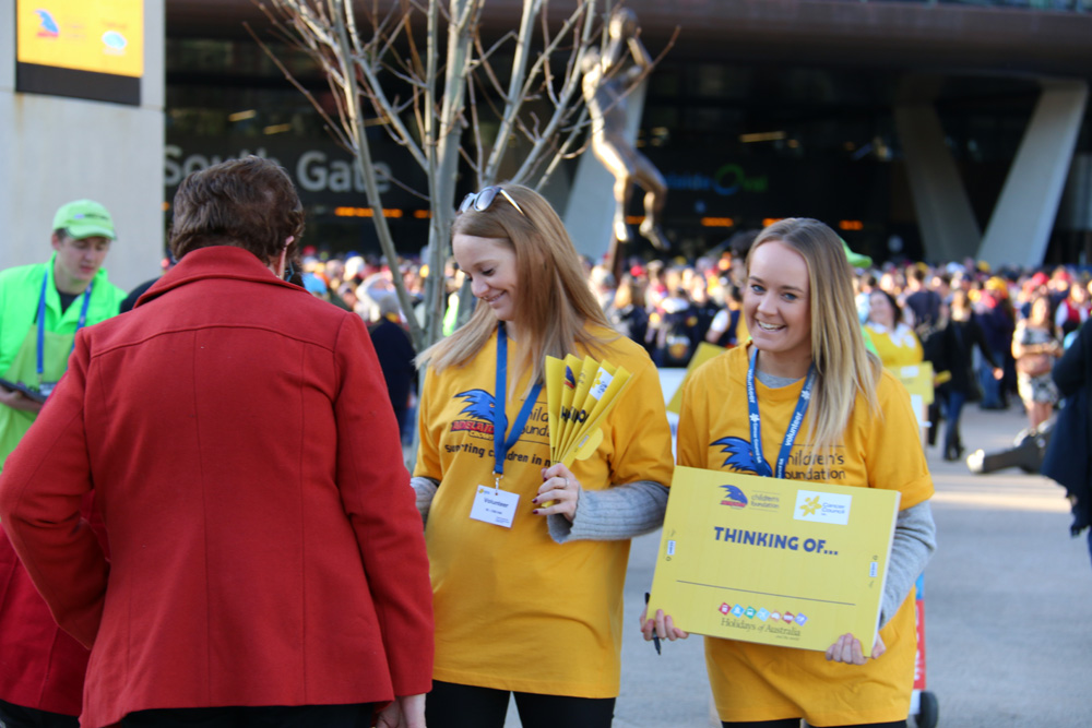 Cancer Council Crows Foundation Event