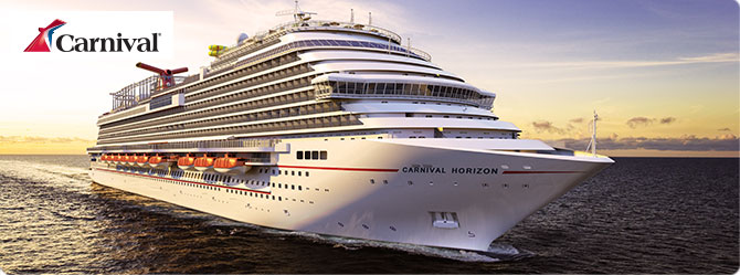 Carnival Cruises with the Carnival Horizon