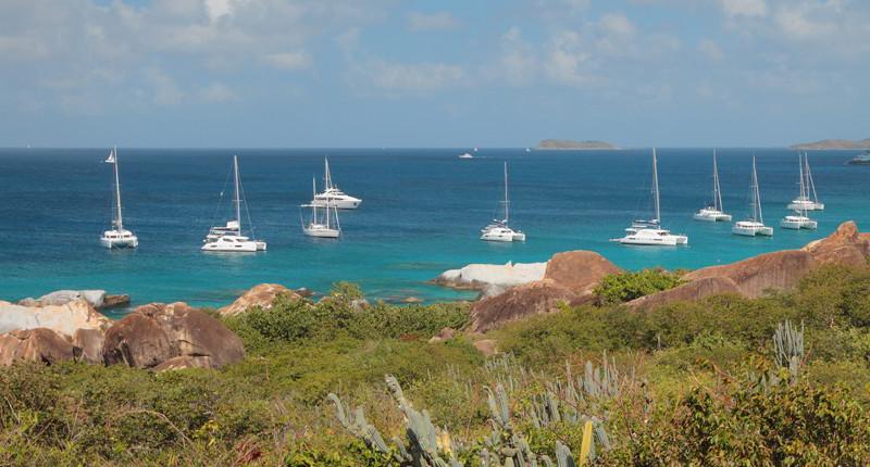 Cruceros por Virgen Gorda, Islas Vírgenes Británicas