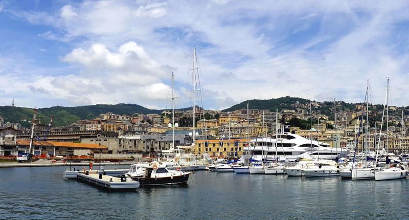 Cruceros por Génova, Italia