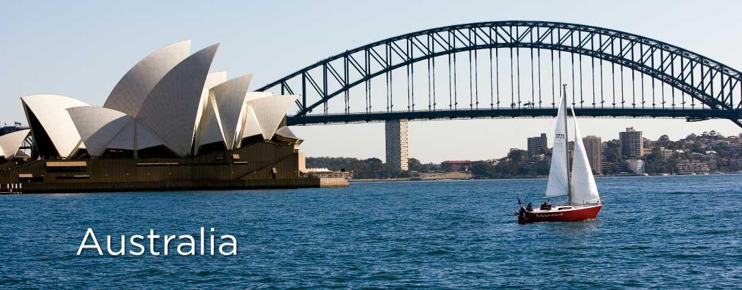 Cruceros por Australia
