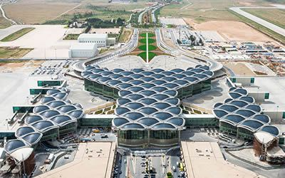 Arrival into Amman Airport