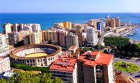 Cruceros por Málaga, España