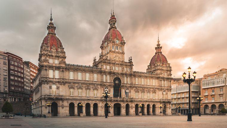 Cruceros por La Coruña, España