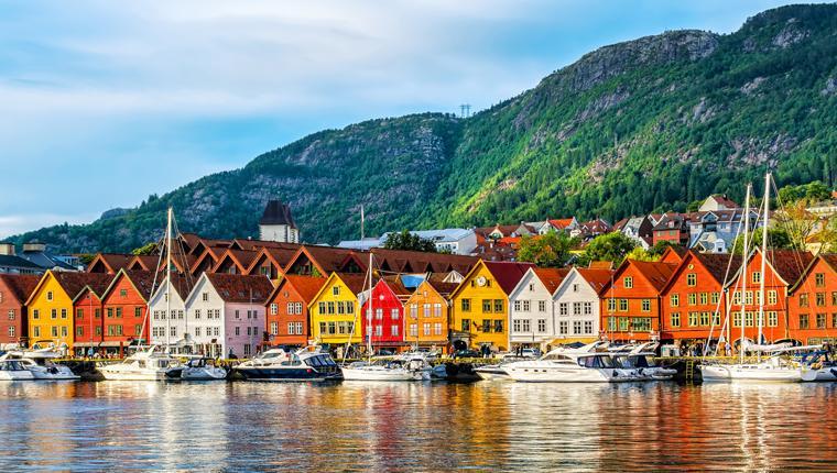 Cruceros por Bergen, Noruega