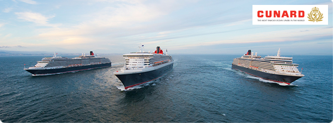 Cunard Cruise Ships - Cruise1st Australia
