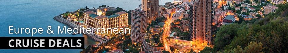 Europe & Mediterranean Luxury Cruise Deals
