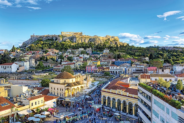 Athens & Barcelona with Med Cruise
