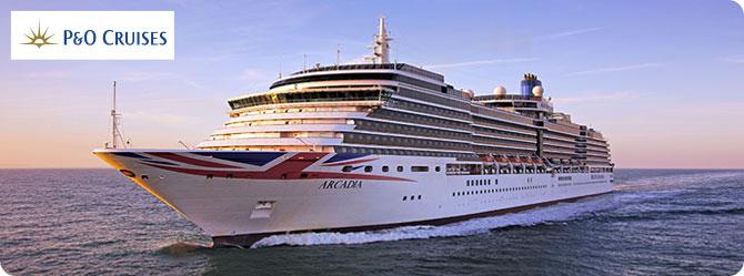 P & O Arcadia Cruise Ship