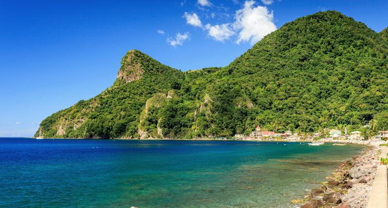 Cruceros por Roseau, Dominica