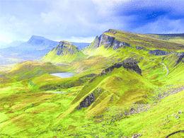 Quiraning Isle of Skye