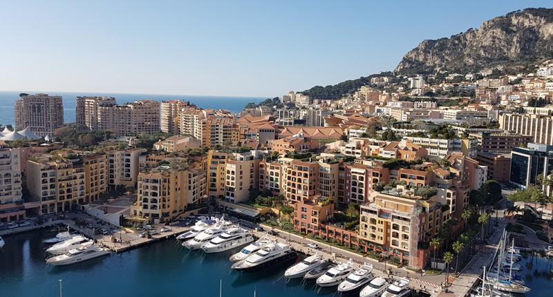 Cruceros por Montecarlo, Mónaco