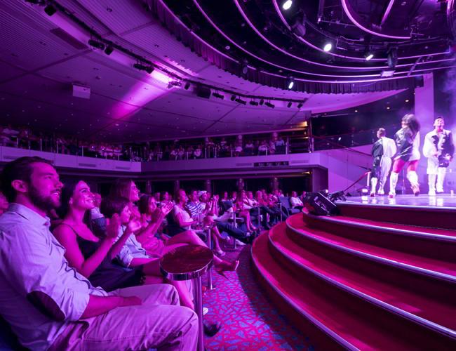 Entretenimiento en Cruceros Pullmantur