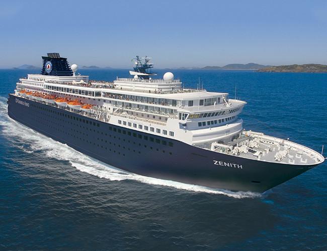 Barco Zenith de Cruceros Pullmantur