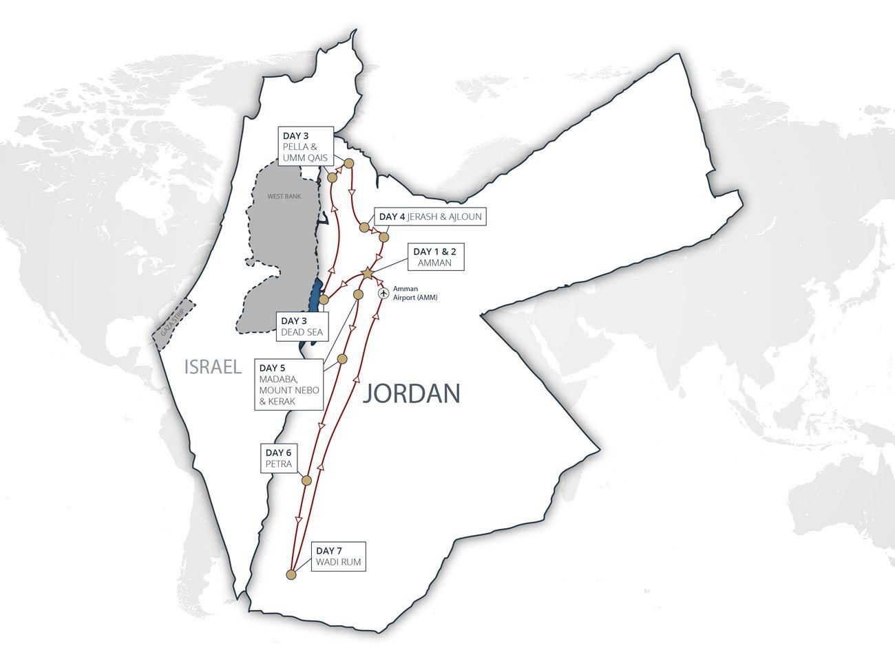Jordan Discovery Tour
