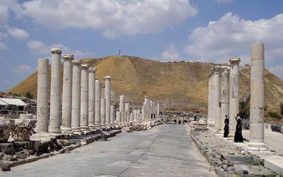 Visit Beit Shean Ruins
