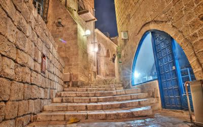 Walking Through Jaffa