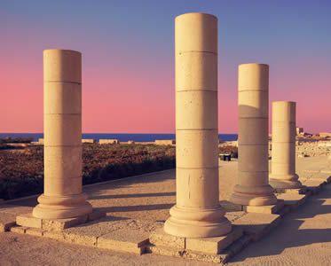 Archaeological ruins of Caesarea